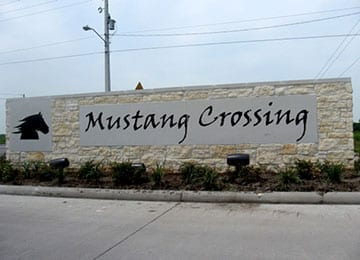 Image of Mustang Crossing Neighborhood